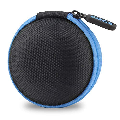 Gizga Essentials G11 Earphone Carrying Case for Earphones, Headset, Pen Drives, SD Cards (Blue)(Carry case only)