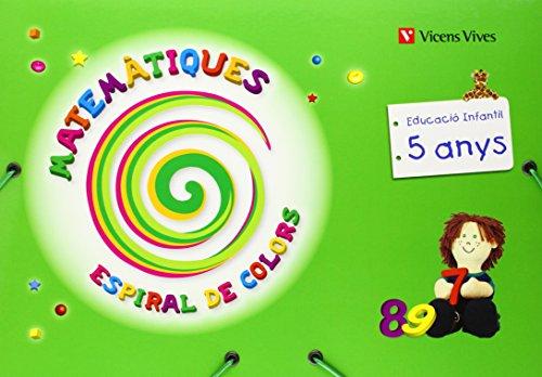 Espiral De Colors. Matemàtiques. Catalunya. 5 Anys (Espiral Magica Material Alumno) - 9788431696719