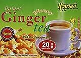 Best Ginger Teas - Honsei Instant Ginger Honey Tea, 40 Count Review