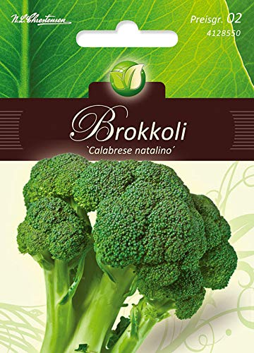 Brokkoli, Calabrese,grünfrüchtig