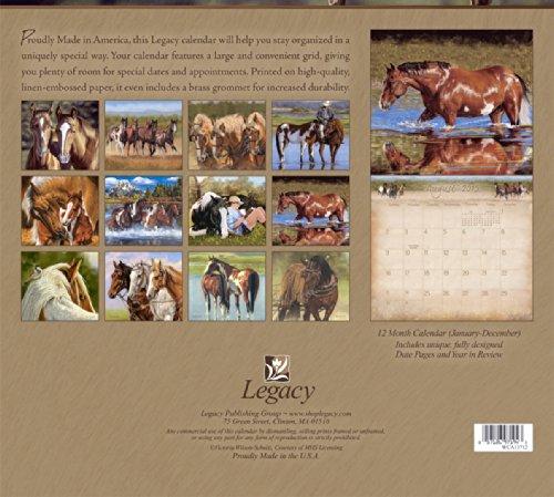 Legacy Publishing Group, Inc. 2015 Wall Calendar, Horses by Victoria Wilson-Schultz (WCA13712) Photo #3