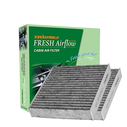 XWAUTOGJ Cabin Air Filter with Activated Carbon, Replacement for CF10285/CP285/Toyota/Lexus/Scion/Subaru (2 PCS)