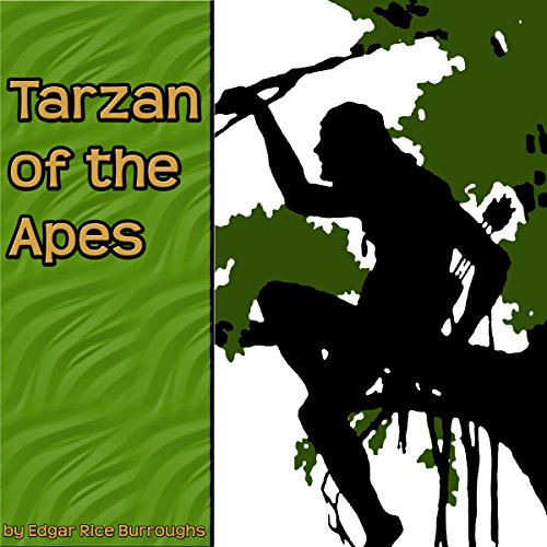 『Tarzan of the Apes』のカバーアート