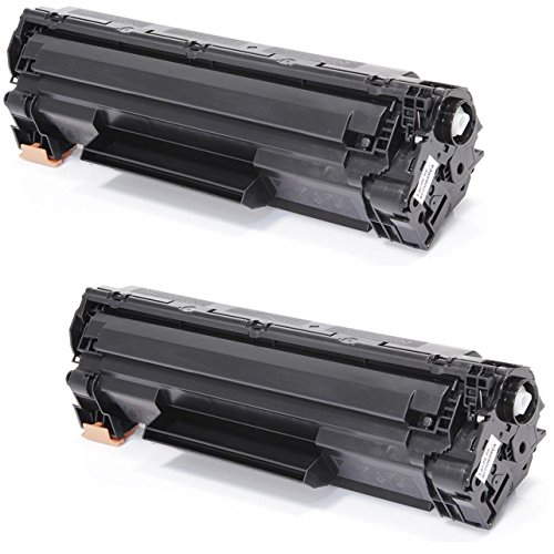 Prestige Cartridge CF279A 79A Pack de 2 Cartuchos de tóner láser compatibles para HP Laserjet Pro M12, M12a, M12w, MFP M26A, MFP M26nw