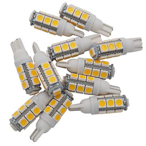 Glming T10 13-smd 5050 ampoules LED DC 12 V 921 194 haute lumière de voiture Intérieur Lampes de remplacement pour caravane Camper