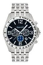Gigandet FAST TRACK Herren Armbanduhr Chronograph Analog Quarz Silber Schwarz G12-009