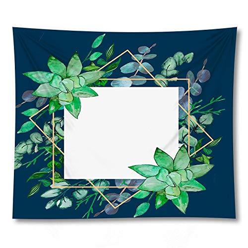 PPOU 3D Stampa foglia di Palma arazzo appeso a parete Arte Della parete decorazione Della casa sfondo panno appeso panno arazzo coperta A13 150x200 cm