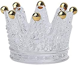 Candle Holders European Style Light Luxury Candle Holder Crystal Candle Holders (Color : B)