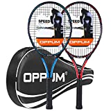 OPPUM 27' Pro Tennis Rackets -2PCS, for Adult Women and Men Student Professional...