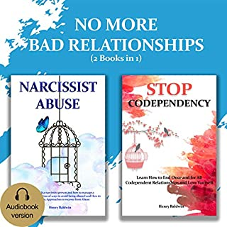 No More Bad Relationships (2 Books in 1) audiobook cover art