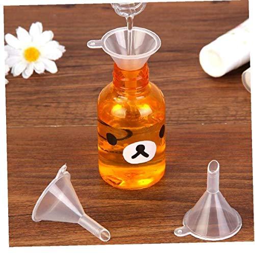 Transparenter Trichter Kunststoff Parfüm Emulsion Zusatzwerkzeug 10 Ml