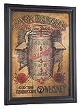 "Jack Daniel's Charcoal Mellowed Pub Sign Old Time Whiskey Barrel 22""x17"" Bar Pub"