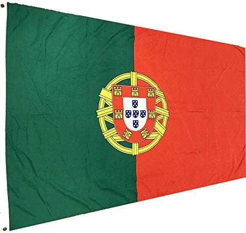 Portugal Fahne Portugiesische National Flagge 150 x 90 cm