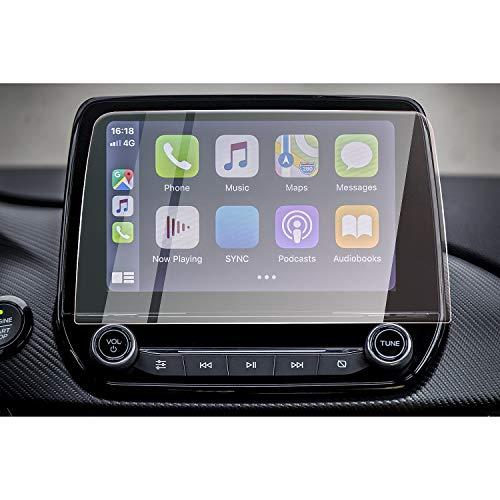 CDEFG für Puma Kuga 2020 Auto Navigation Glas Schutzfolie 9H Kratzfest Anti-Fingerprint 8 Zoll GPS Transparent Displayschutzfolie Zubehör
