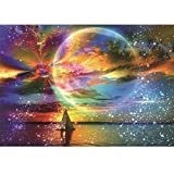 DIY 5D Diamond Painting Full Square Drill Kits for Adults 30x40cm(11.8'x15.8') Starry Sky Crystal Rhinestone Embroidery Pictures Arts Craft for Home Wall Decor Gift