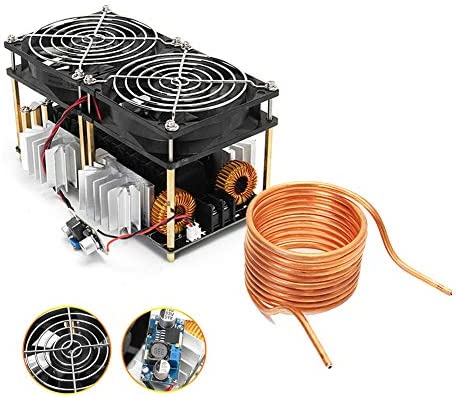 1800W ZVS Induction Heating Board Module Low Voltage High Frequency 12 48V Flyback Driver Heater product image