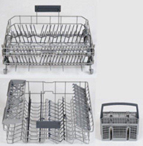 Daniplus cesta inferior y superior para lavavajillas, para Siemens Bosch 770441 sustituye 479194 / inferior 680997 y cesta 668270 - nr.: 712900, repuesto para 249440