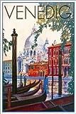 Poster 40 x 60 cm: Venedig von Travel Collection -