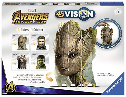 4S Avengers Infinity War Groot & Co