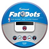 heat fathead - FATHEAD Miami Heat Logo Fat Dots - Team Color,