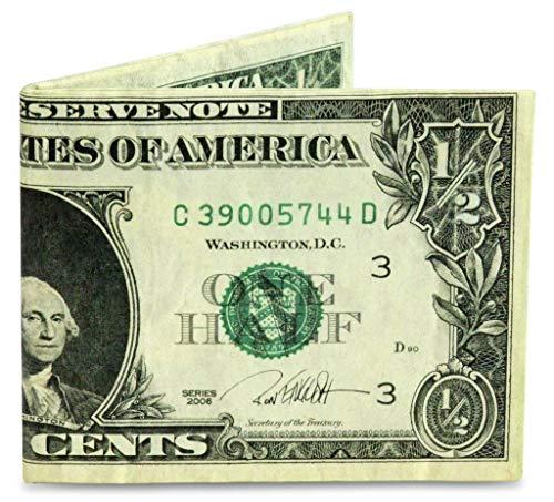 Mighty wallet Herren Geldbörse Half Dollar Mighty – superdünn, leicht, Tyvek Billfold