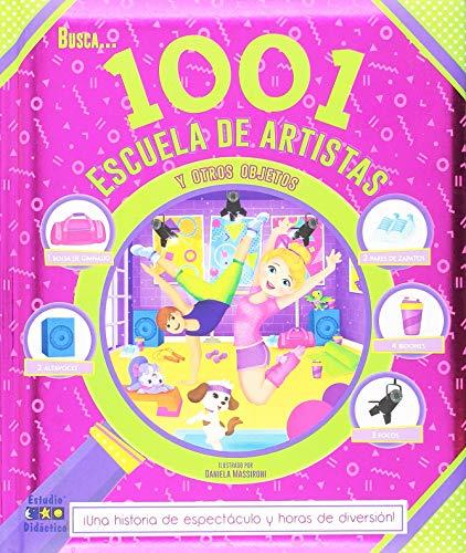 BUSCA 1001 ESCUELA DE ARTISTAS Y OTROS OBJETOS (Busca y encuentra)