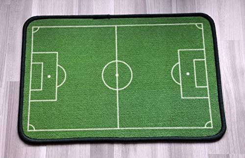 "Diseño de moda campo de fútbol Felpudo, para interior/exterior Felpudo 23.6""(L) X 15,7(W)"