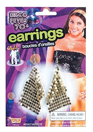 Forum Novelties 74522 Boucles d'oreilles diamant Or Taille unique
