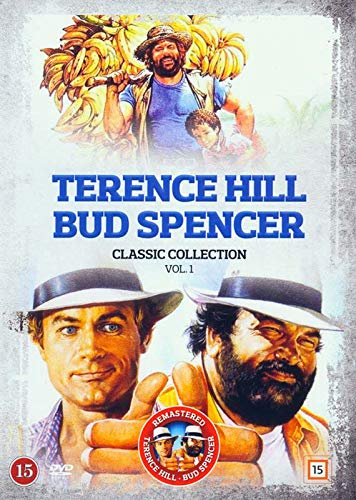 Terence Hill and Bud Spencer Classic Collection 1 - 5-DVD Set ( Banana Joe / Crime Busters / Double Trouble / Even Angels Eat Beans / Go for It ) [ Dänische Import ]
