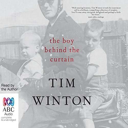 The Boy Behind the Curtain audiobook cover art
