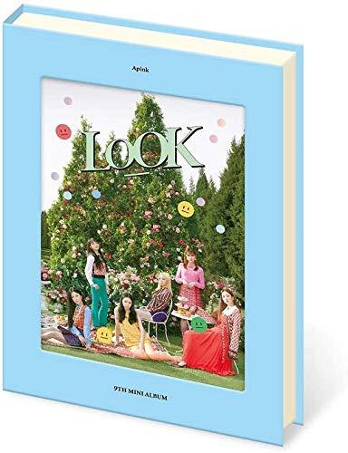 APINK LOOK 9th Mini Album Jujirong VER CD+Foto+Libro de fotos+3 tarjetas+Soporte+Pegatina SEALED+TRACKING...