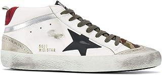 Moda De Lujo | Golden Goose Hombre GMF00122F00039380345 Blanco Cuero Zapatillas Altas | Temporada Permanente