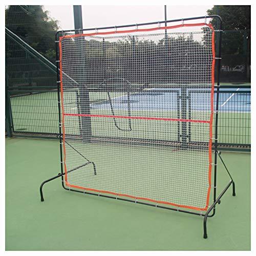 LHSG Tennis Rebounder, tragbares Tennis Rebound Netz, Rebound Wand für Tennis & Racquet Sports Ball Backboard für Indoor & Outdoor Training