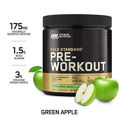 Optimum Nutrition Gold Standard Pre Workout 330g Apple from Optimum Nutrition