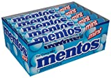 Mentos Chewy Mint Candy Roll, Mint, Non Melting, Party, 14 Pieces (Bulk Pack of 15) - Packaging May Vary