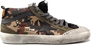 Golden Goose Sneakers MID Star Camouflage Canvas/Black Star G34MS634.P3