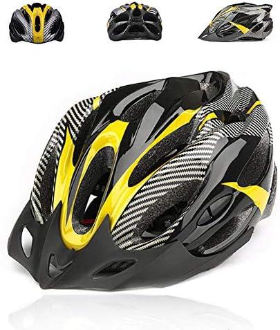 Regolazione Semplificata degli Sport allAria Aperta Casco di Sicurezza per Bici da Mountain Bike per Uomo E Donna fuchsiaan Casco per Bici da Ciclismo per Adulti
