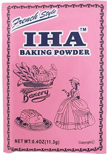 Iha French Style Baking Powder (Sodium Bicarbonate) Pack of 8