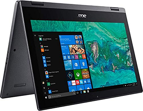 Acer Spin 1 SP111-33 Ultra Slim Touch 2-1 Laptop Intel Quad Core N5000 up to 2.7Ghz 4GB 64GB SSD 11.6in HD LED Windows 10 in S Mode HDMI Webcam (Renewed)