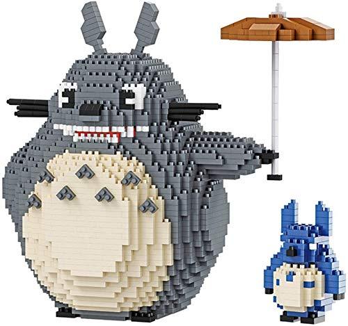 Totoro Micro Building Blocks 3D Puzzles DIY Juguetes Educativos Regalo para Adultos Niños