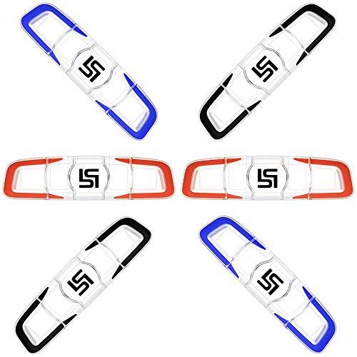Gurxi 6 Pezzi Set Antivibrazioni Tennis Ammortizzatore per Racchetta da Tennis in Silicon Tennis Antivibrazione Siliconico Ammortizzatore per Corde da Tennis per Tennista Sport Favore Sports
