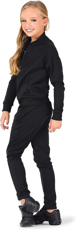 Girls Team Zip Up Long Sleeve Jacket D3044C