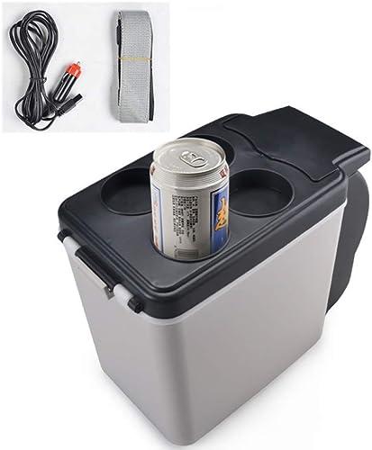 GUANHONG éfrigérateur Voiture Mini-réfrigérateur réfrigérateur Semi-conducteurs Voiture 6L avec 12V