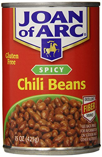 Joan of Arc Beans, Spicy Chili, 15 Ounce (Pack of 12)