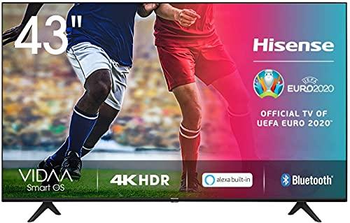 Hisense 43AE7000F UHD TV 2020 - Smart TV Resolución 4K con