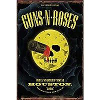Guns Roses メタルポスター壁画ショップ看板ショップ看板表示板金属板ブリキ看板情報防水装飾レストラン日本食料品店カフェ旅行用品誕生日新年クリスマスパーティーギフト