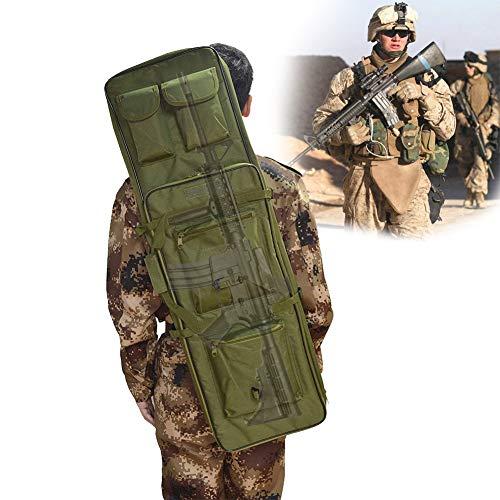 TBDLG wasserdichte Gewehr Weichkoffer, Gepolstert Waffentasche, FüR Langwaffen Outdoor Tactical Carbine Wasser- Und Staubdicht Jagd SchießEn,120CM