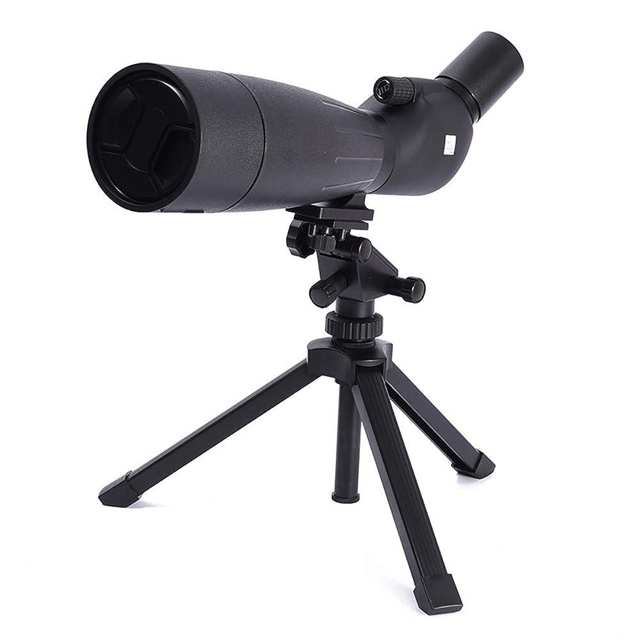深める雑草高くZXASDC 単眼鏡カメラ 望遠鏡 20-60x 防水 BAK-4 プリズム ハイパワー フォト望遠鏡 大人 バードウォッチング 野生動物 旅行 コンサート スポーツなどに (ブラック)
