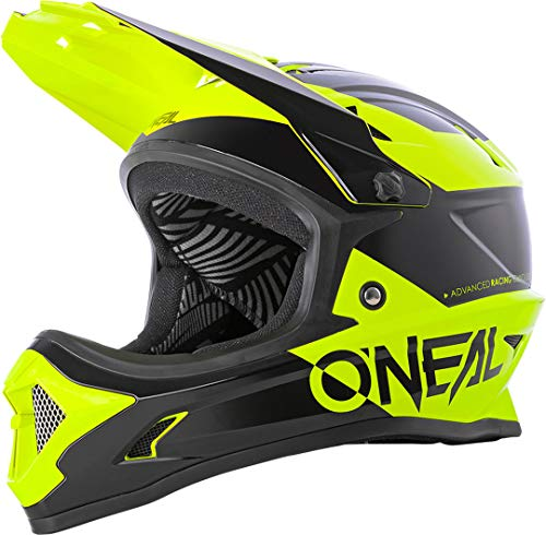 Black//Neonyellow ONeal 3SRS Helmet Attack 2.0 Neon Yellow S 55//56 cm Adultos Unisex Casco Moto MX-Motocross