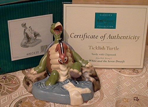 WDCC 4002439 Ticklish Turtle